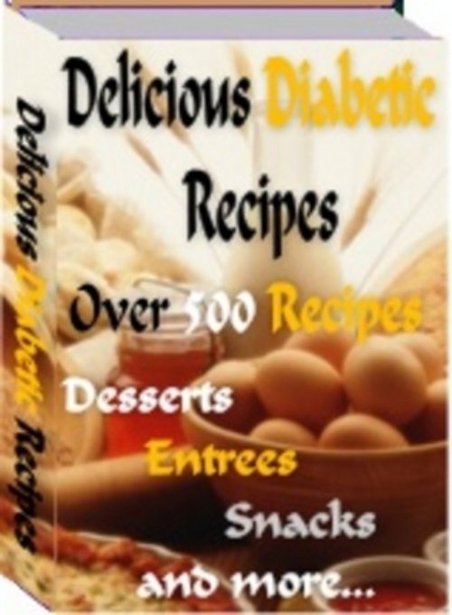 Product picture 500+ Tasty Delicious Diabetic Recipes + MRR