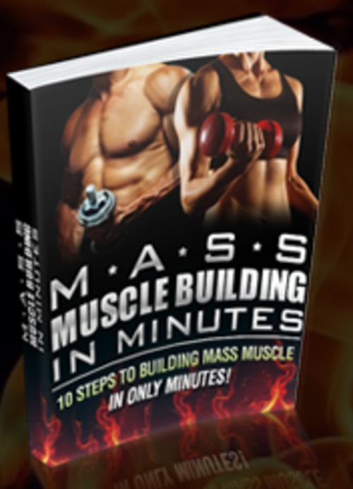 Product picture Mass Muscle Building In Minutes + MRR/ Giveaway Rights