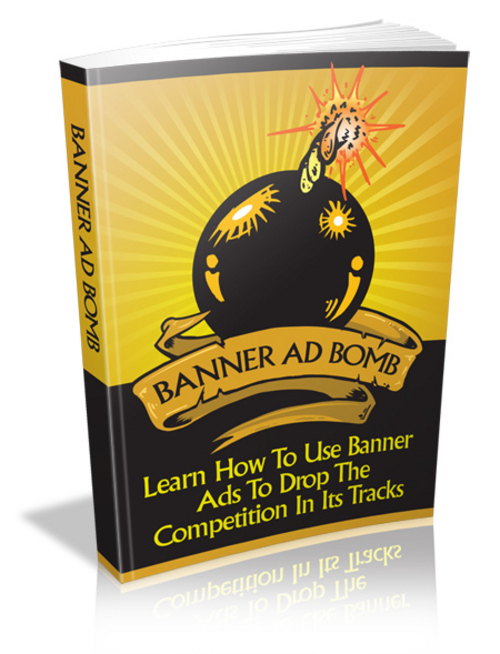 Product picture Banner Ad Bomb + MRR Ebook