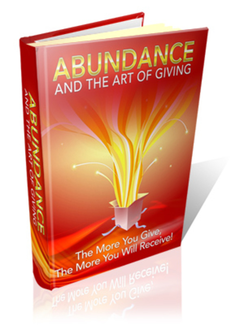 Product picture Abundance And The Art Of Giving + MRR