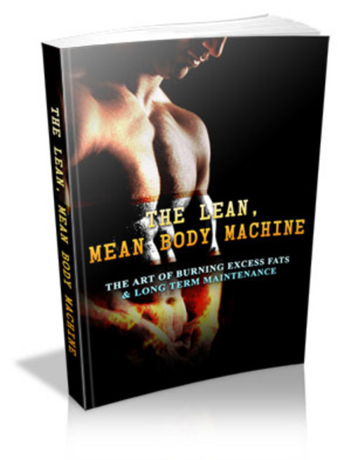 Product picture The Lean, Mean Body Machine With PLR