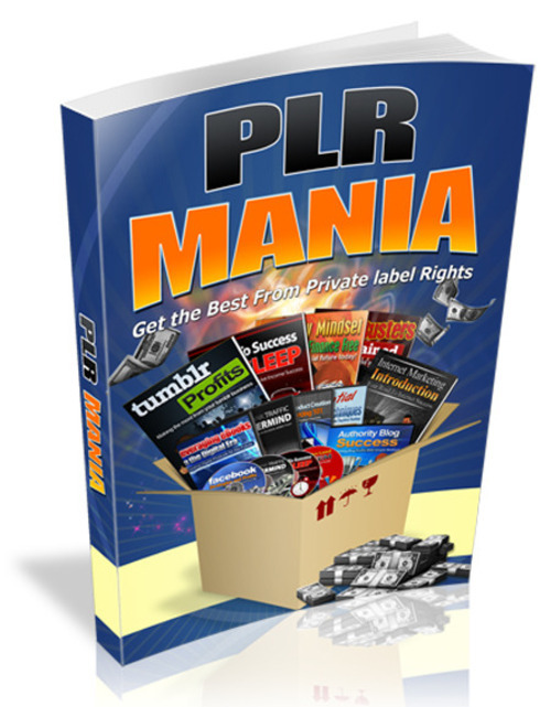 Product picture PLR Mania