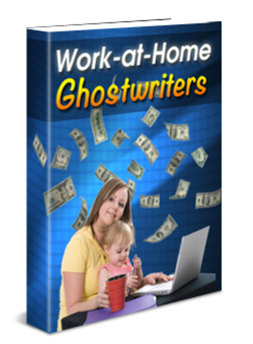 Product picture Work At Home Ghostwriters MRR