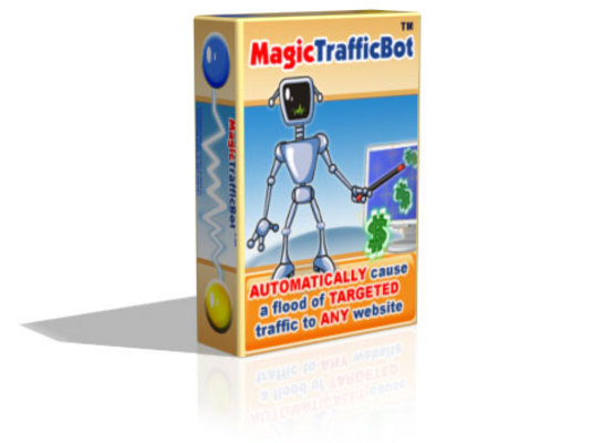 Product picture Magic Traffic Bot - Explode Website Traffic and Sales